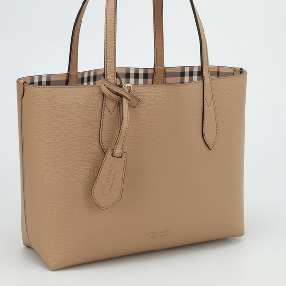 c330c5c043 Burberry Bags | Brand New With Tag Reversible Tan Tote | Poshmark